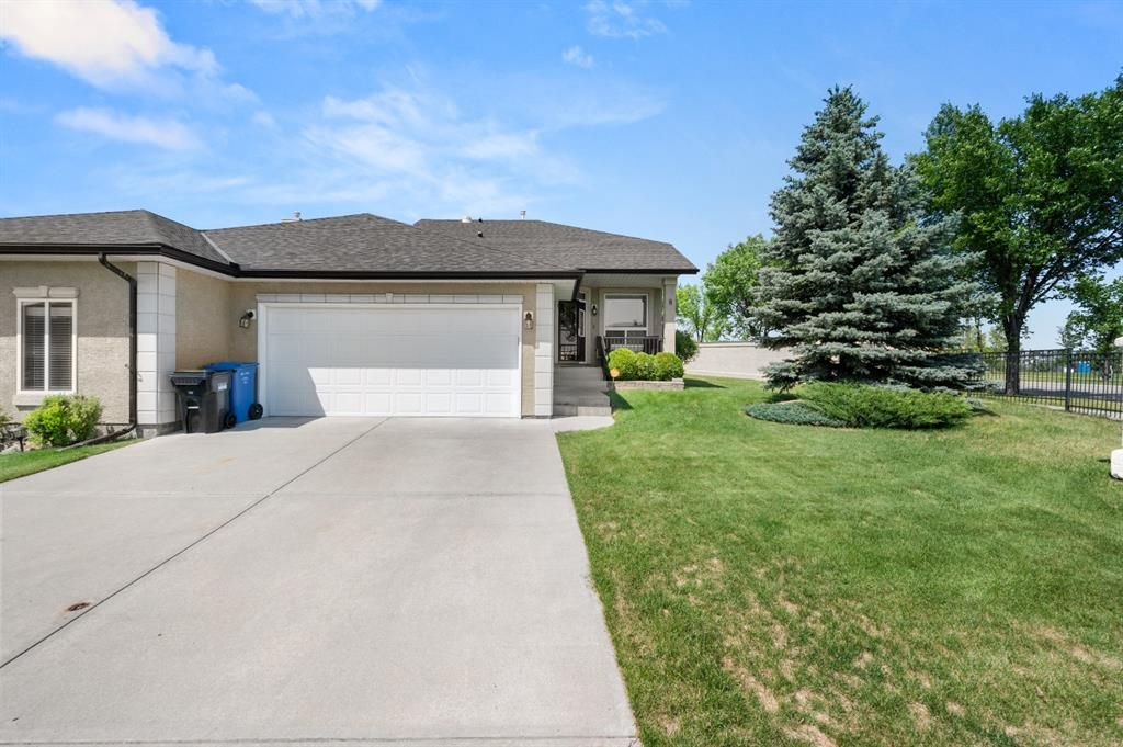 Main Photo: 8 Tuscany Village Court NW in Calgary: Tuscany Semi Detached for sale : MLS®# A1130047