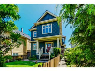"Photo 1: 956 E 13TH Avenue in Vancouver: Mount Pleasant VE 1/2 Duplex for sale in ""Charles Dickens"" (Vancouver East)  : MLS®# V1123181"