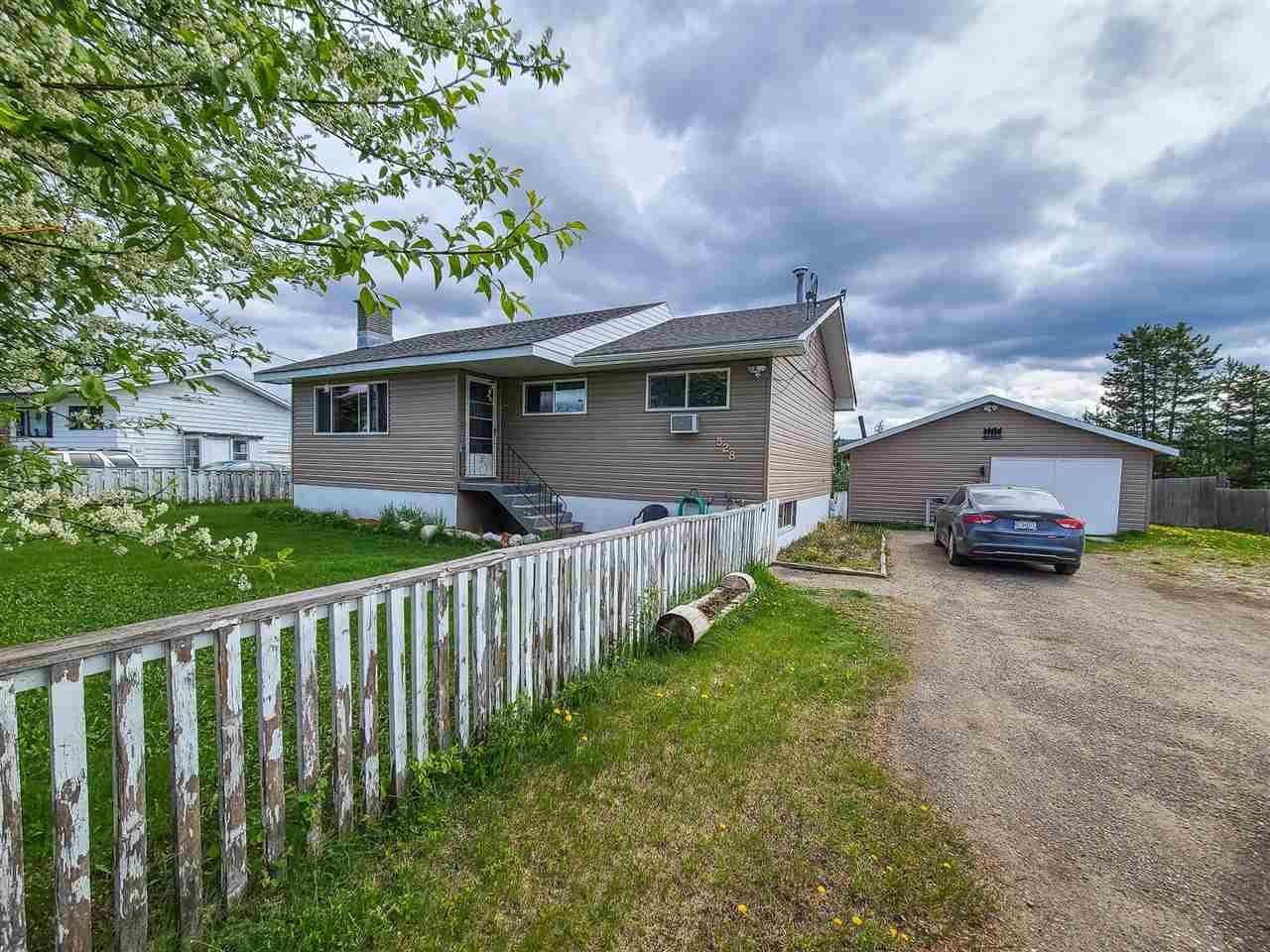 "Main Photo: 528 KODIAK Street: Bear Lake House for sale in ""BEAR LAKE"" (PG Rural North (Zone 76))  : MLS®# R2585120"