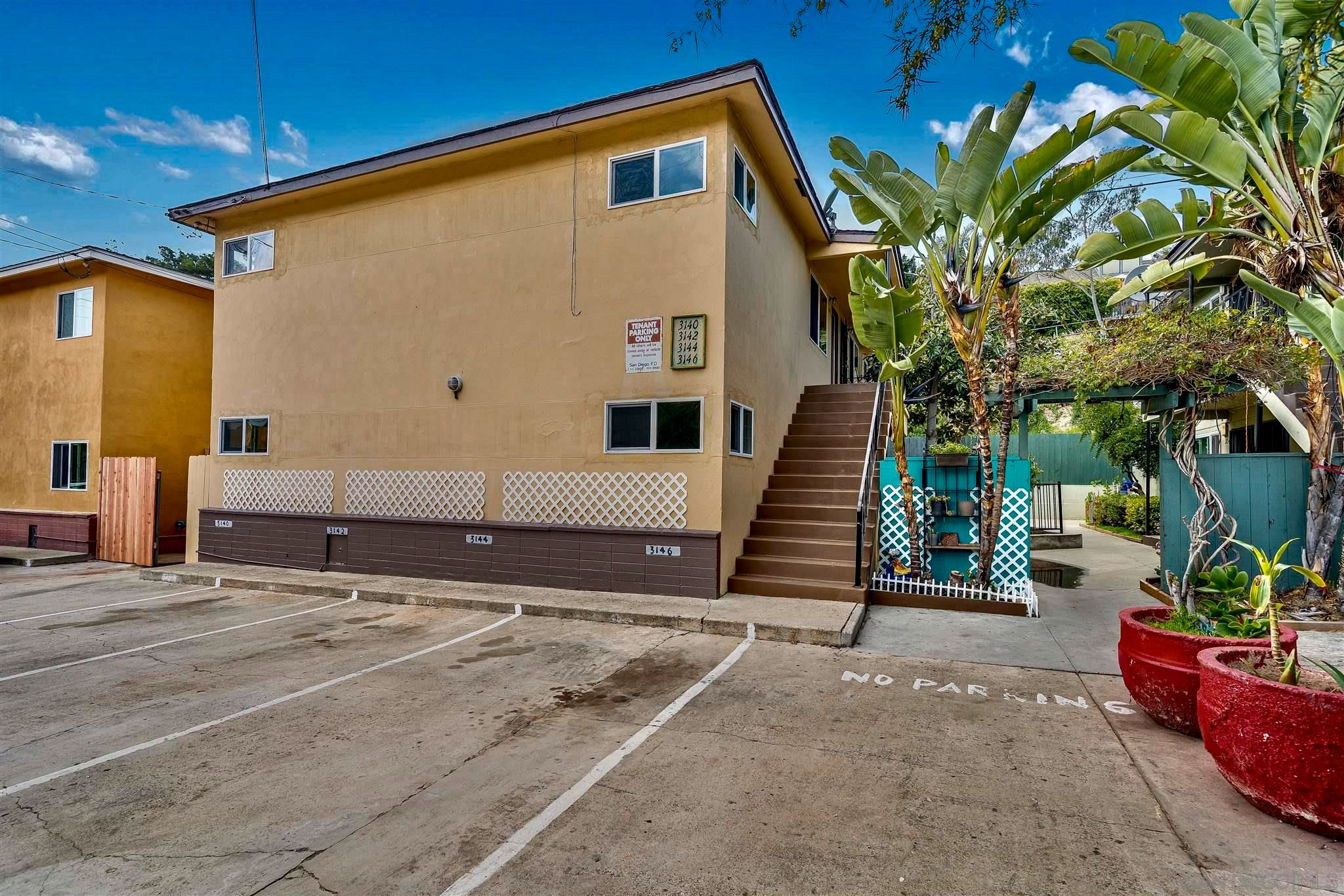 Main Photo: MISSION HILLS Property for sale: 3140-46 Reynard Way in San Diego