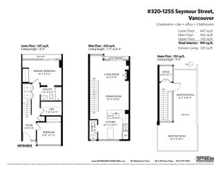 Photo 26: 320 1255 SEYMOUR STREET in Vancouver: Downtown VW Townhouse for sale (Vancouver West)  : MLS®# R2604811