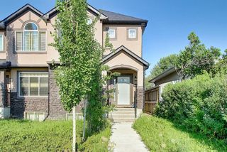 Main Photo: 1104 39 Street SE in Calgary: Forest Lawn Semi Detached for sale : MLS®# A1130722