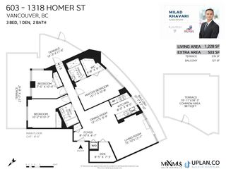 """Photo 27: 603 1318 HOMER Street in Vancouver: Yaletown Condo for sale in """"The Governor"""" (Vancouver West)  : MLS®# R2591849"""