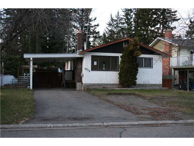 Photo 1: Photos: 2374 OLDS Street in Prince George: Pinewood House for sale (PG City West (Zone 71))  : MLS®# N235345