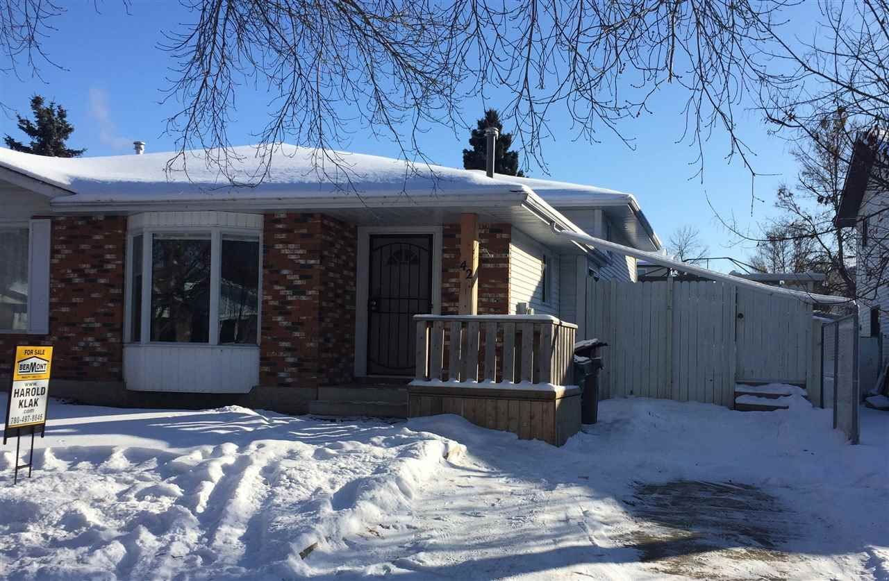 Main Photo: 42 WALDEN Crescent: St. Albert House Half Duplex for sale : MLS®# E4227422