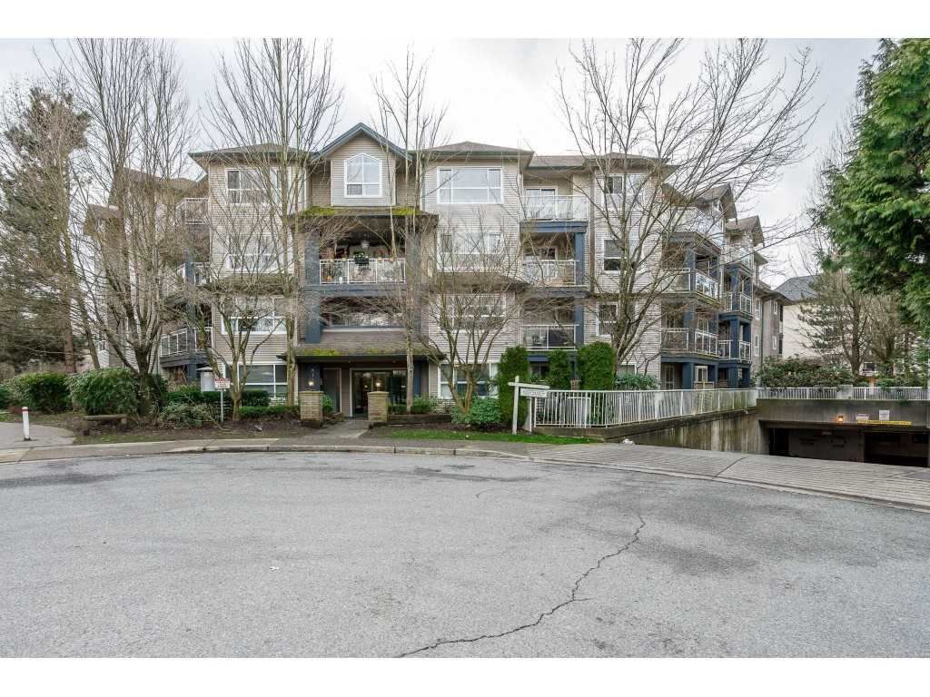 "Main Photo: 107 8115 121A Street in Surrey: Queen Mary Park Surrey Condo for sale in ""THE CROSSING"" : MLS®# R2553840"