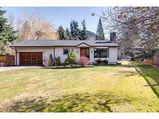 """Photo 1: 41550 GOVERNMENT Road in Squamish: Brackendale House for sale in """"BRACKENDALE"""" : MLS®# V1051640"""