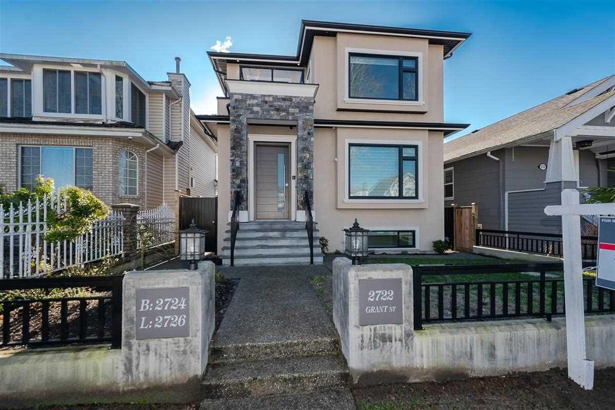 Main Photo: 2722 GRANT Street in Vancouver: Renfrew VE House for sale (Vancouver East)  : MLS®# R2333249