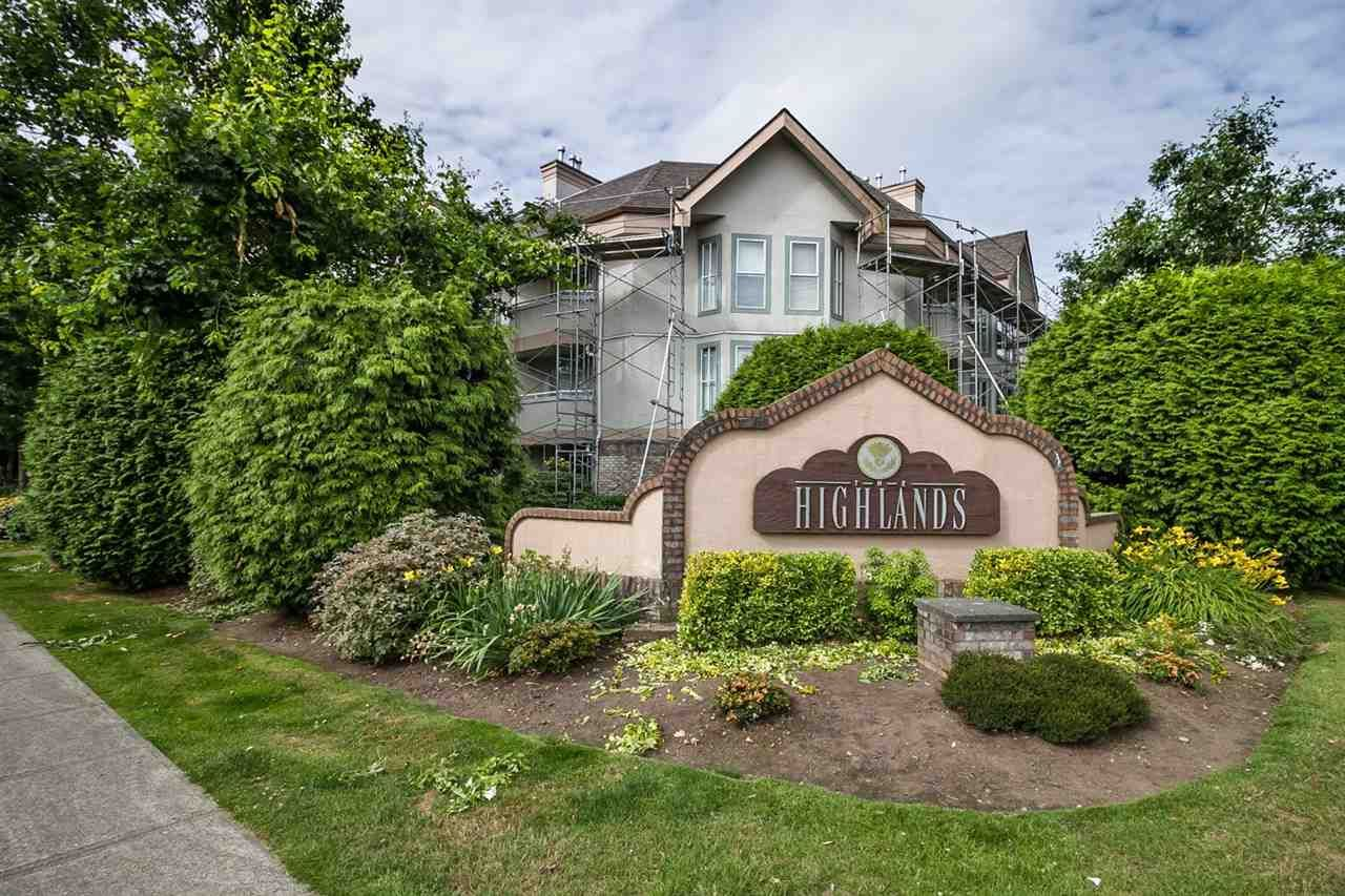 """Main Photo: 103 7171 121 Street in Surrey: West Newton Condo for sale in """"THE HIGHLANDS"""" : MLS®# R2086342"""