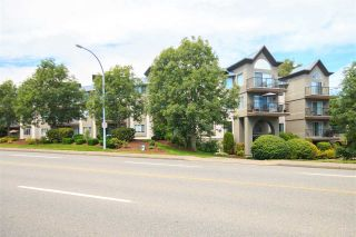 "Photo 1: 215 32725 GEORGE FERGUSON Way in Abbotsford: Abbotsford West Condo for sale in ""THE UPTOWN"" : MLS®# R2109860"