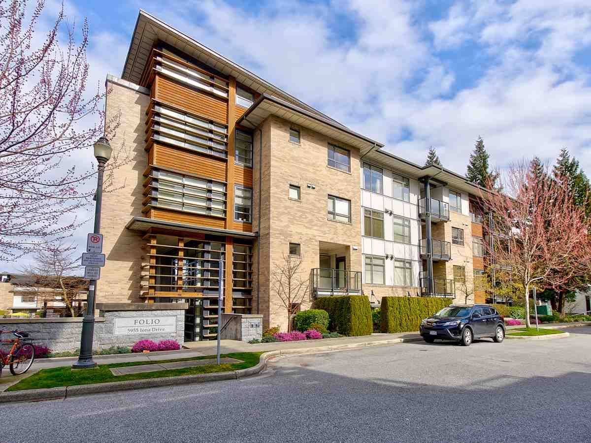 """Main Photo: 307 5955 IONA Drive in Vancouver: University VW Condo for sale in """"FOLIO"""" (Vancouver West)  : MLS®# R2569325"""