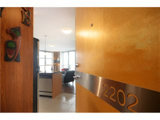 "Photo 1: # 2202 1199 SEYMOUR ST in Vancouver: Downtown VW Condo for sale in ""BRAVA"" (Vancouver West)  : MLS®# V1033200"
