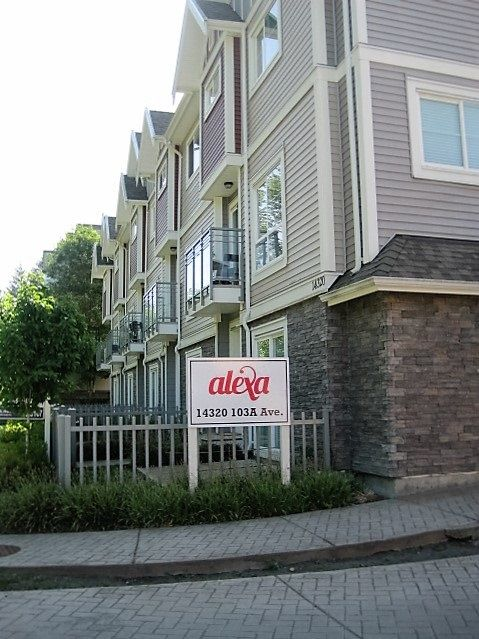 """Main Photo: 6 14320 103A Avenue in Surrey: Whalley Townhouse for sale in """"Alexa"""" (North Surrey)  : MLS®# R2069249"""