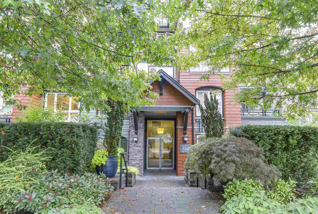 Main Photo: 201 736 W 14TH AVENUE in Vancouver: Fairview VW Condo for sale (Vancouver West)  : MLS®# R2110767