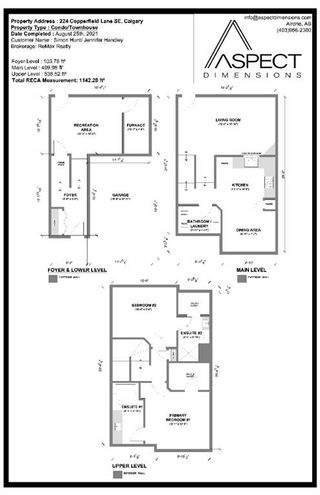 Photo 34: 224 Copperfield Lane SE in Calgary: Copperfield Row/Townhouse for sale : MLS®# A1140752