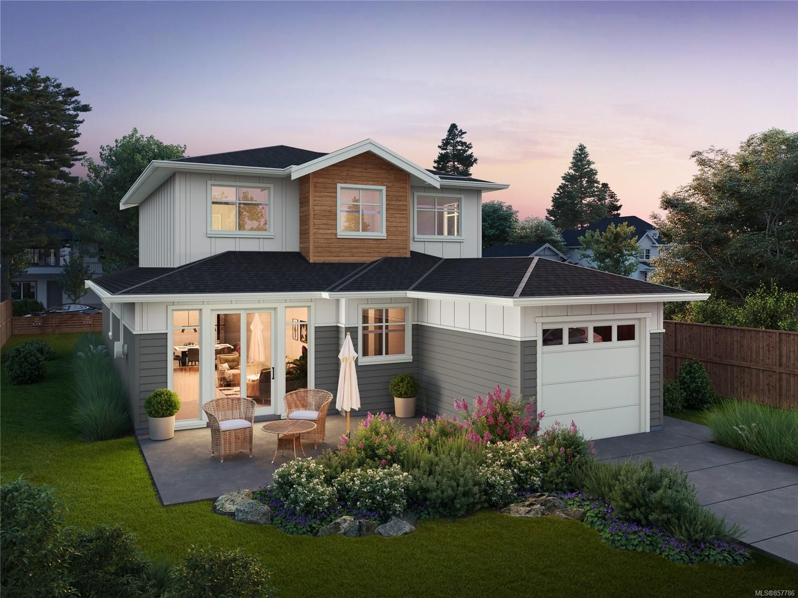 Main Photo: 2089 Deerbrush Cres in : NS Bazan Bay House for sale (North Saanich)  : MLS®# 857786