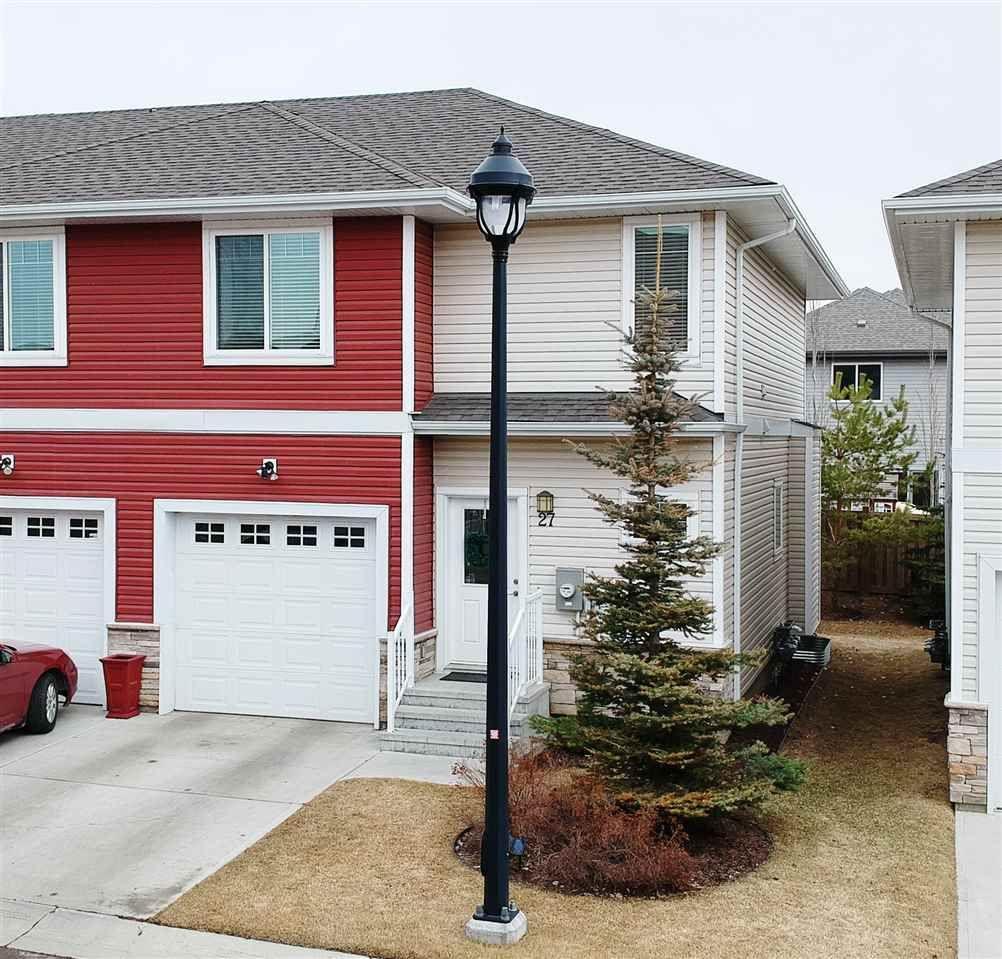 Main Photo: 450 MCCONACHIE Way in Edmonton: Zone 03 Townhouse for sale : MLS®# E4236201