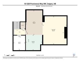 Photo 39: 18 1220 Prominence Way SW in Calgary: Patterson Row/Townhouse for sale : MLS®# A1133893