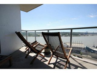 """Photo 14: 1209 14 BEGBIE Street in New Westminster: Quay Condo for sale in """"Inter Urban"""" : MLS®# V1070124"""