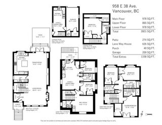 Photo 20: 958 E 38TH AVENUE in Vancouver: Fraser VE House for sale (Vancouver East)  : MLS®# R2414390