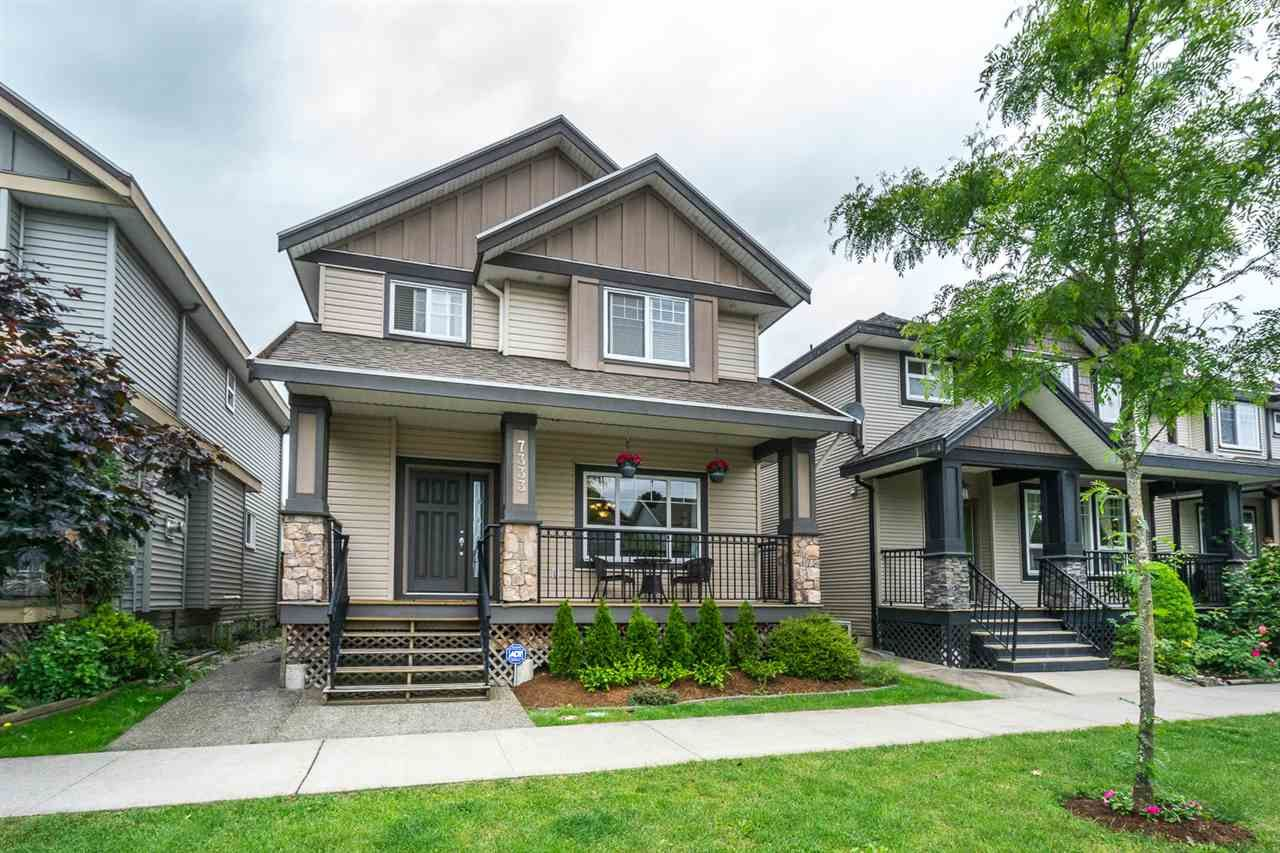 """Main Photo: 7333 194 Street in Surrey: Clayton House for sale in """"Clayton"""" (Cloverdale)  : MLS®# R2173578"""