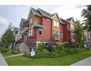 Photo 1: 2294 St. George Street in Vancouver: Mount Pleasant VE Townhouse for sale (Vancouver East)  : MLS®# V748597