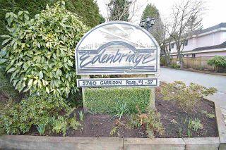 "Photo 1: 7 5740 GARRISON Road in Richmond: Riverdale RI Townhouse for sale in ""EDENBRIDGE"" : MLS®# R2548387"