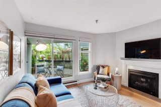 Photo 7: 108 2020 W 8 AVENUE in Vancouver: Kitsilano Townhouse for sale (Vancouver West)  : MLS®# R2585715