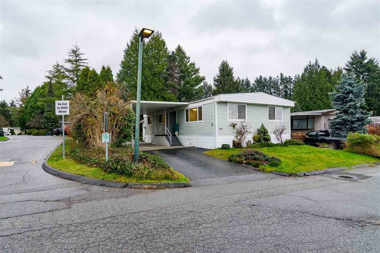 "Main Photo: 241 1840 160 Street in Surrey: King George Corridor Manufactured Home for sale in ""Breakaway Bays"" (South Surrey White Rock)  : MLS®# R2555969"