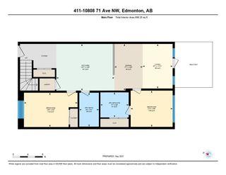 Photo 48: 411 10808 71 Avenue in Edmonton: Zone 15 Condo for sale : MLS®# E4261732