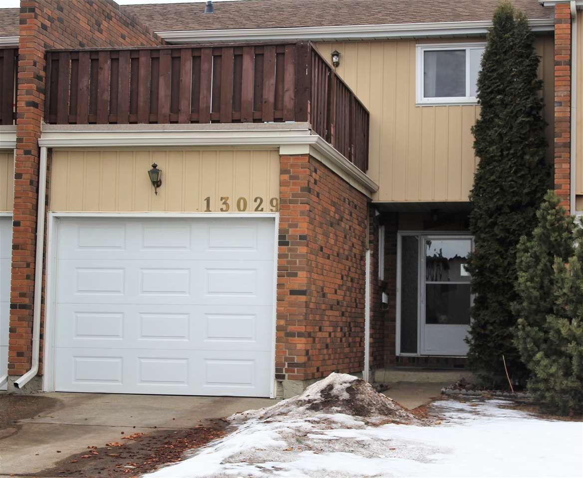 Main Photo: 13029 34 Street in Edmonton: Zone 35 Townhouse for sale : MLS®# E4231859