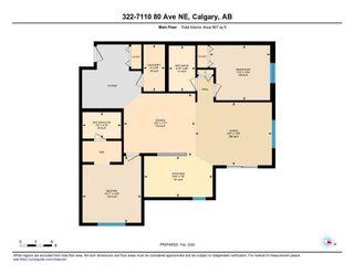 Photo 25: 322 7110 80 Avenue NE in Calgary: Saddle Ridge Apartment for sale : MLS®# C4285522