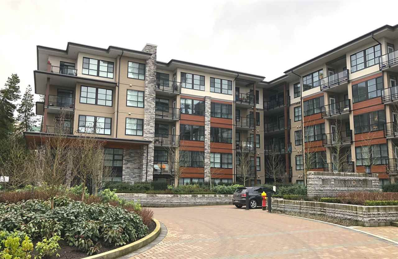 "Main Photo: 313 1152 WINDSOR Mews in Coquitlam: New Horizons Condo for sale in ""Parker House East by Polygon"" : MLS®# R2231153"