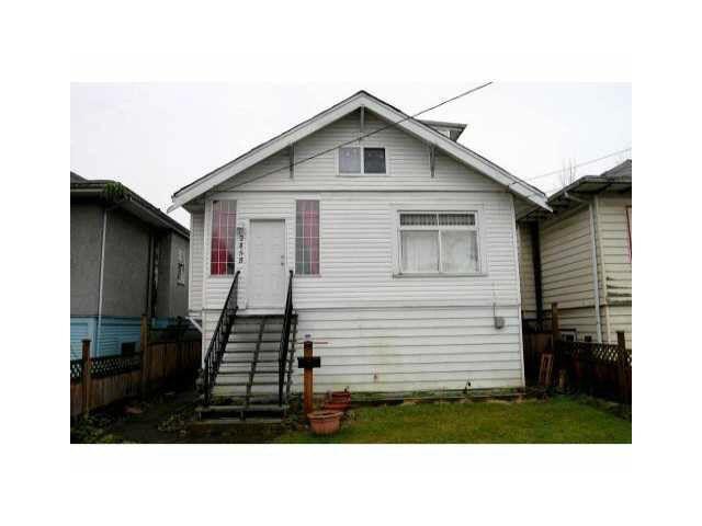 Main Photo: 2458 E 41ST AVENUE in : Killarney VE House for sale : MLS®# V1091617