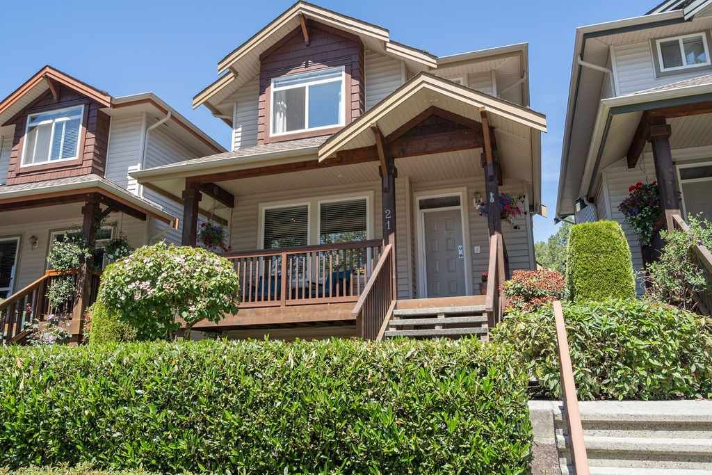 """Main Photo: 21 2381 ARGUE Street in Port Coquitlam: Citadel PQ House for sale in """"THE BOARDWALK"""" : MLS®# R2399249"""
