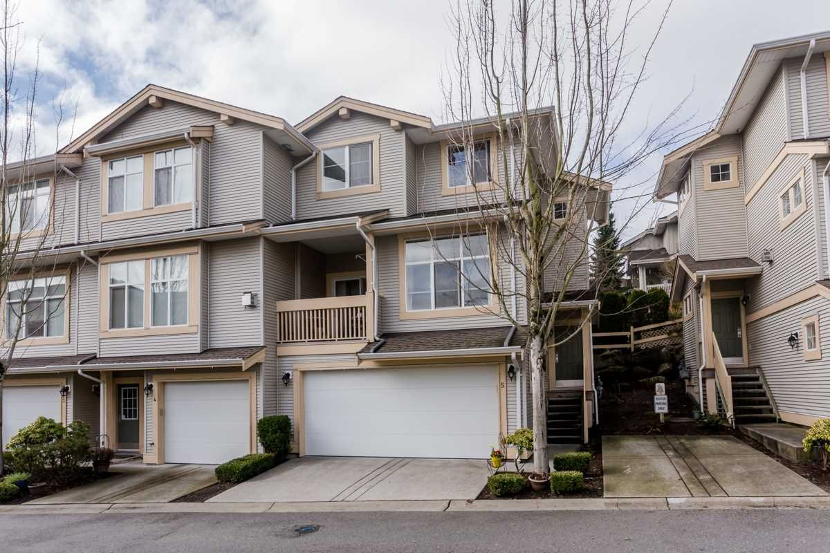 """Main Photo: 5 14959 58 Avenue in Surrey: Sullivan Station Townhouse for sale in """"Skylands"""" : MLS®# R2037215"""