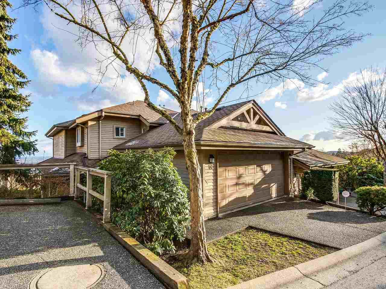 Main Photo: 76 2979 PANORAMA DRIVE in Coquitlam: Westwood Plateau Townhouse for sale : MLS®# R2141709