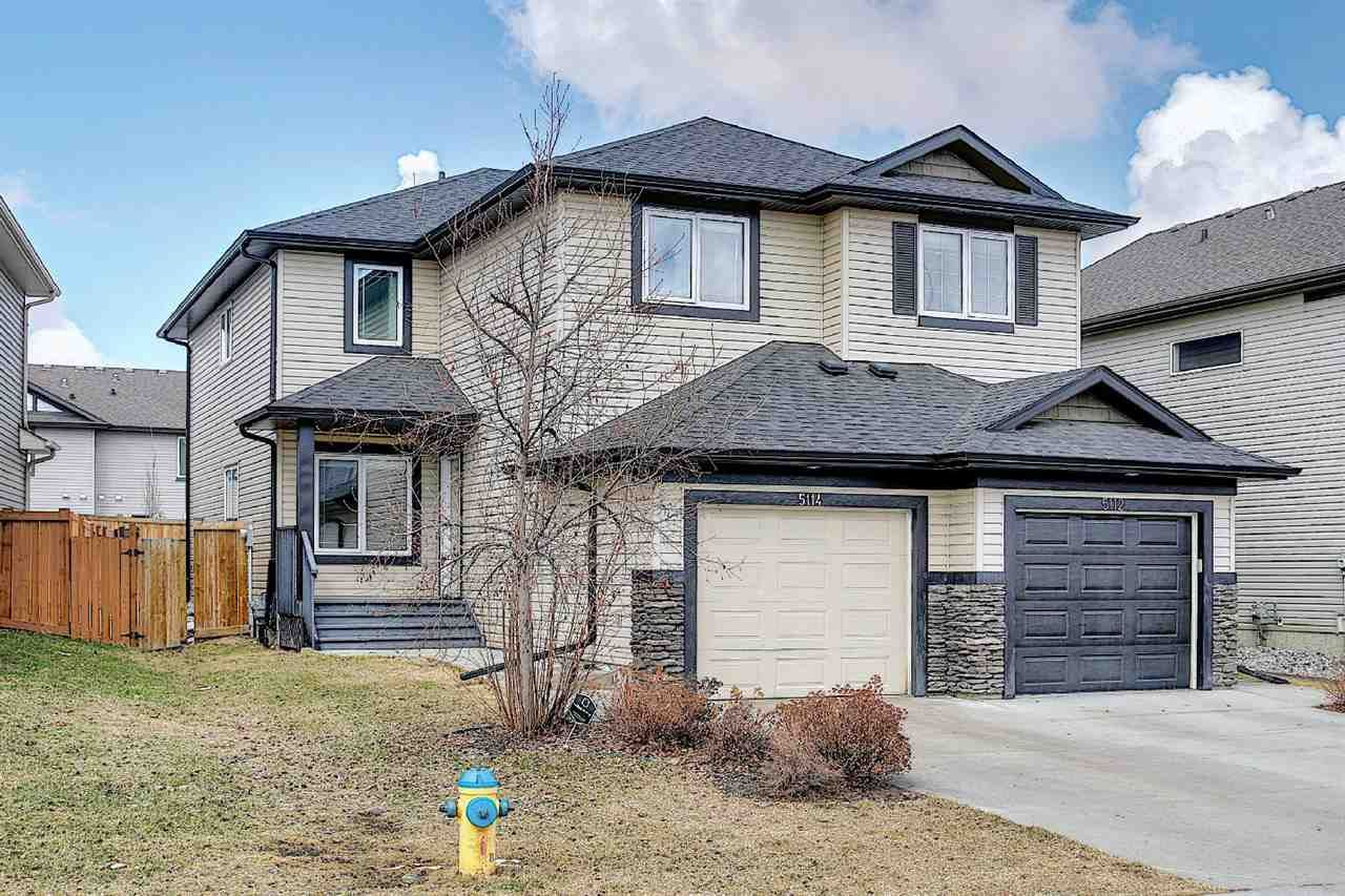 Main Photo: 5114 168 Avenue in Edmonton: Zone 03 House Half Duplex for sale : MLS®# E4237956