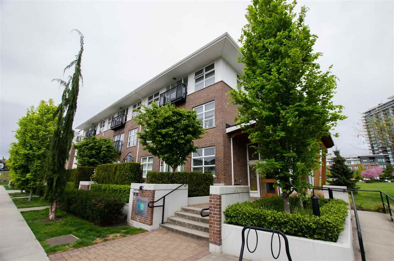 """Main Photo: 203 245 BROOKES Street in New Westminster: Queensborough Condo for sale in """"DUO"""" : MLS®# R2454079"""