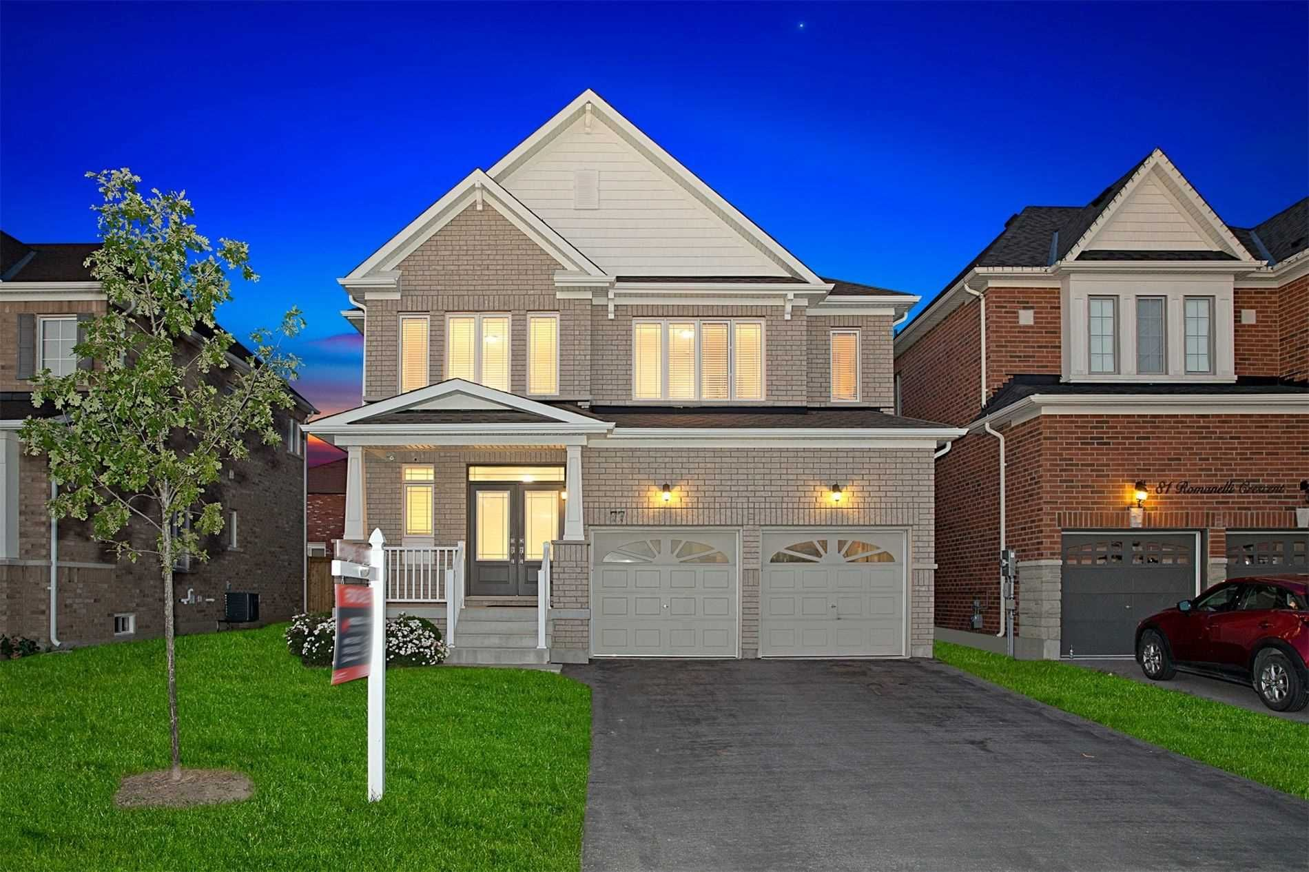 Main Photo: 77 Romanelli Crescent in Bradford West Gwillimbury: Bradford House (2-Storey) for sale : MLS®# N5347505