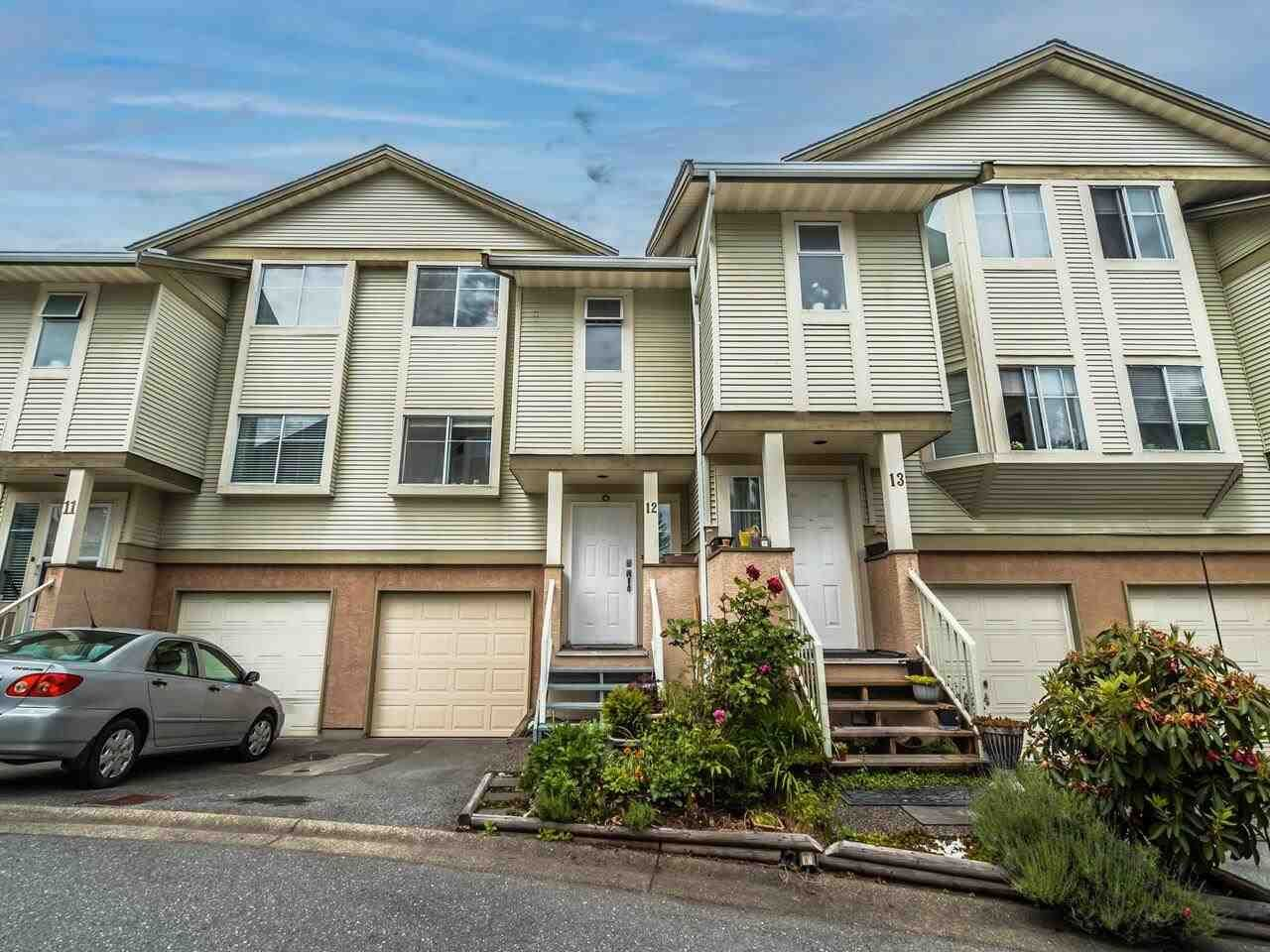 """Main Photo: 12 1318 BRUNETTE Avenue in Coquitlam: Maillardville Townhouse for sale in """"Place Pare"""" : MLS®# R2587903"""