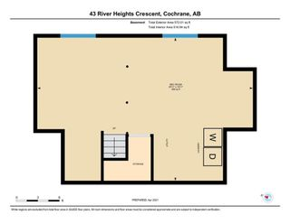 Photo 45: 43 River Heights Crescent: Cochrane Detached for sale : MLS®# A1094533
