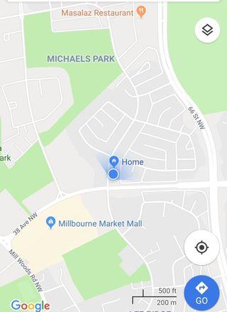 Photo 33: 813 MILLBOURNE Road E in Edmonton: Zone 29 House Half Duplex for sale : MLS®# E4252431