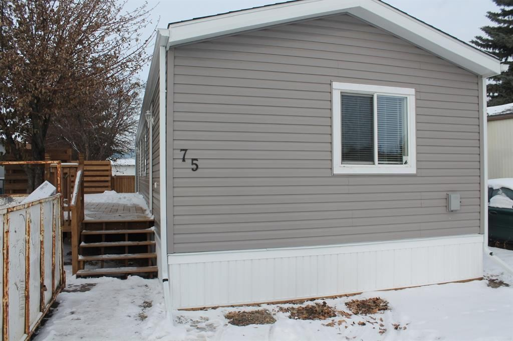 Main Photo: 75 9090 24 Street SE in Calgary: Riverbend Mobile for sale : MLS®# A1049275