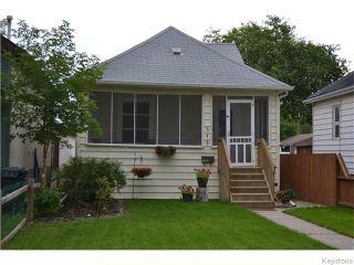 Photo 1: 315 Hampton Street in Winnipeg: St James Residential for sale (West Winnipeg)  : MLS®# 1620568