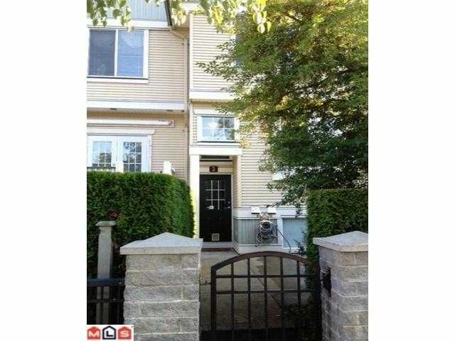 """Main Photo: 2 8383 159TH Street in Surrey: Fleetwood Tynehead Townhouse for sale in """"AVALON WOOD"""" : MLS®# F1220258"""