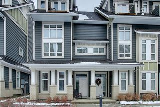 Photo 4: 191 Silverado Plains Park SW in Calgary: Silverado Row/Townhouse for sale : MLS®# A1086865