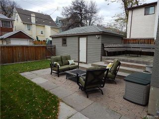 Photo 17: 66 Chestnut Street in Winnipeg: Wolseley Residential for sale (5B)  : MLS®# 1626694
