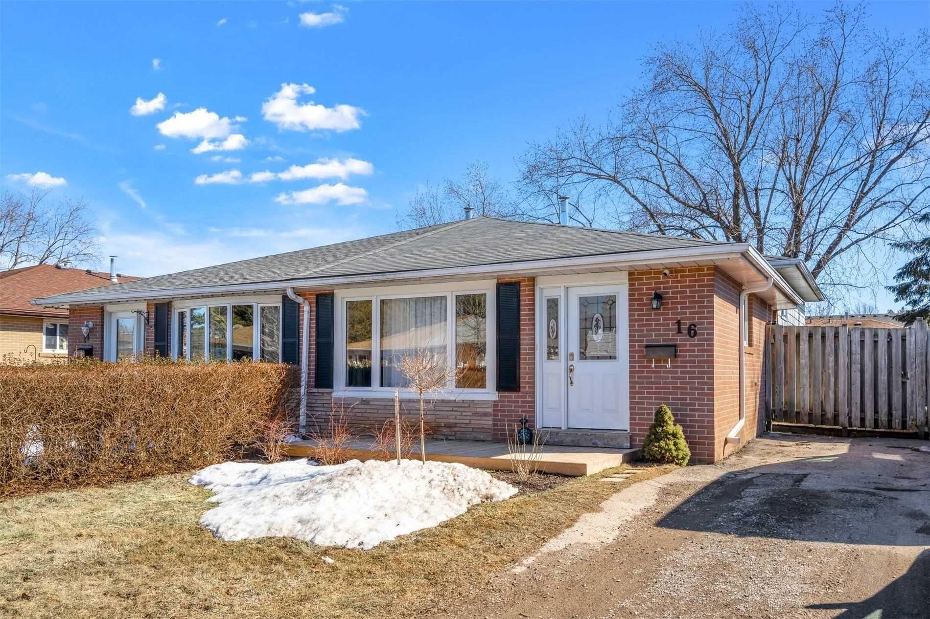 Main Photo: 16 Carlton Drive: Orangeville House (Backsplit 3) for sale : MLS®# W5151481