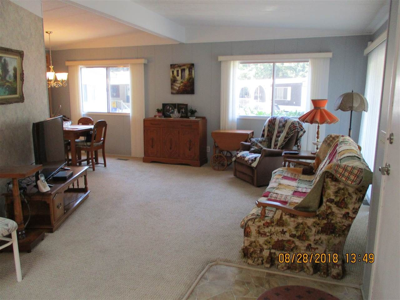 """Photo 2: Photos: 57 2305 200 Street in Langley: Brookswood Langley Manufactured Home for sale in """"CEDAR LANE"""" : MLS®# R2357125"""